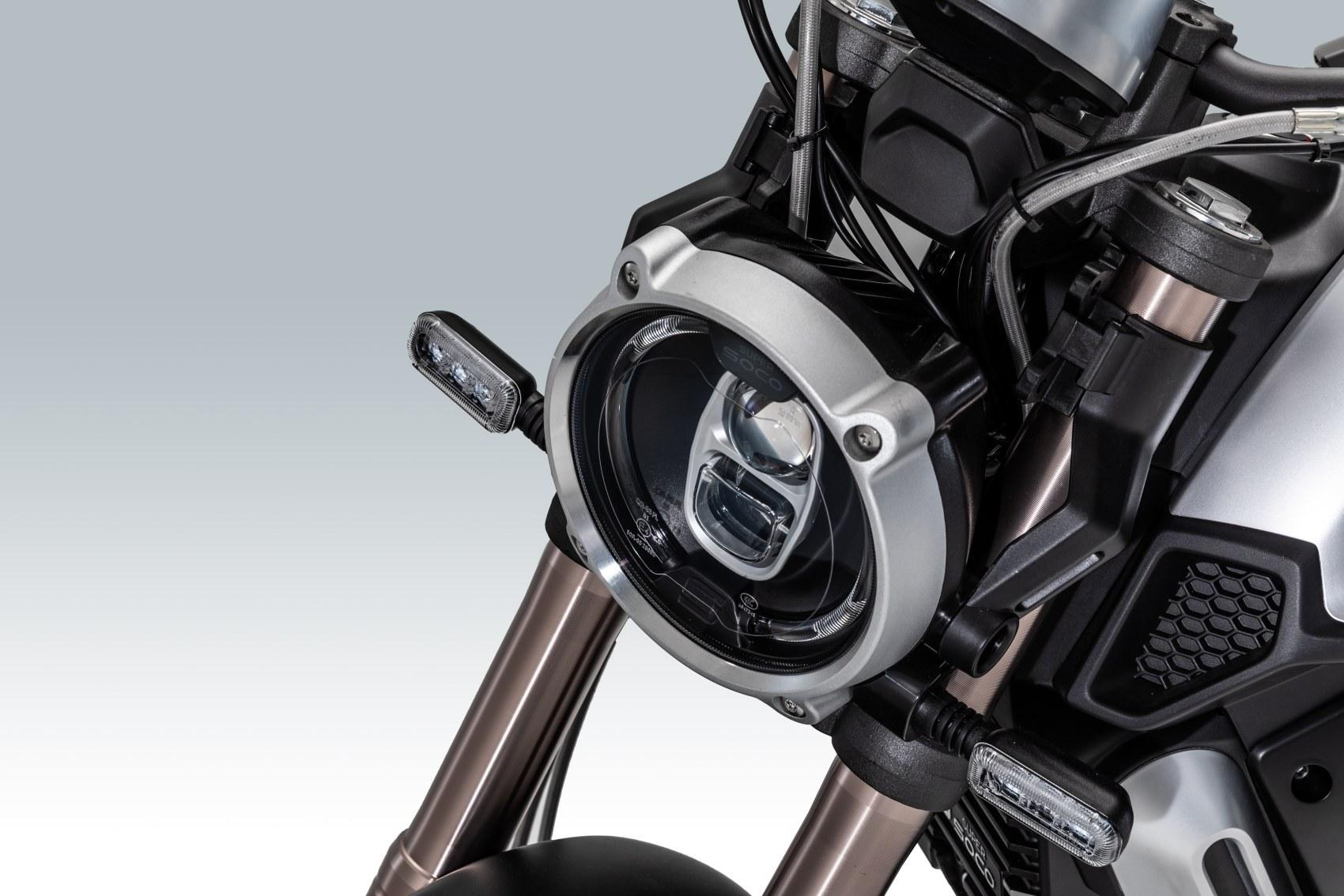 Super Soco TC Max headlight