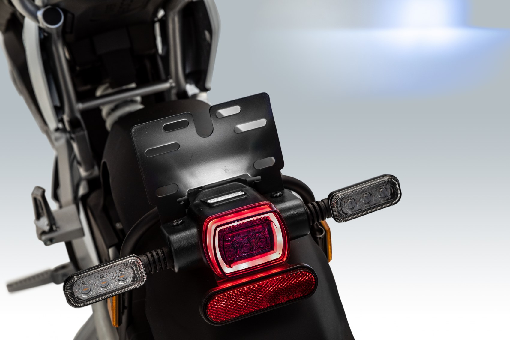 Super Soco TC Max electric motorcycle tail unit