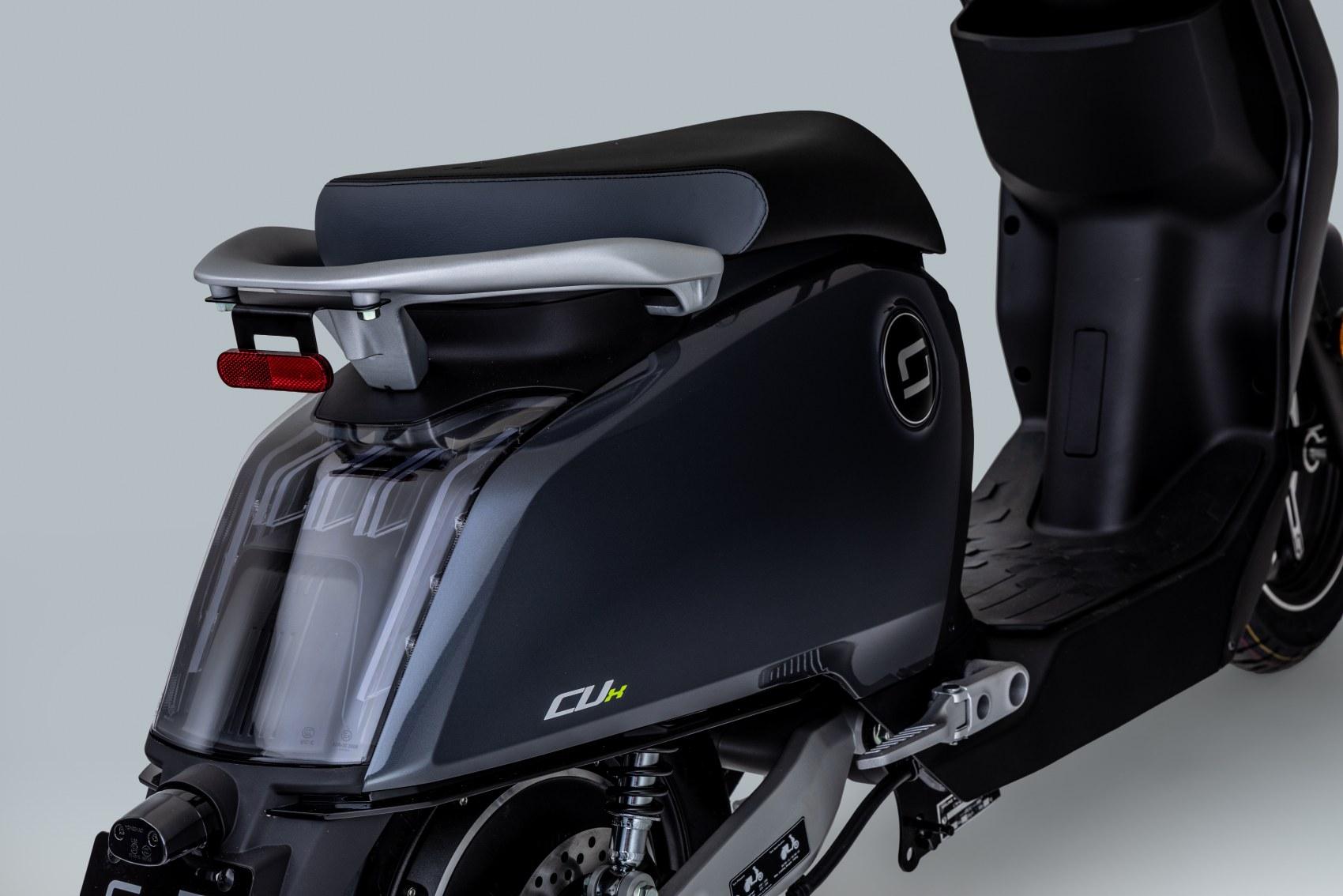 Super Soco CUx electric scooter rear