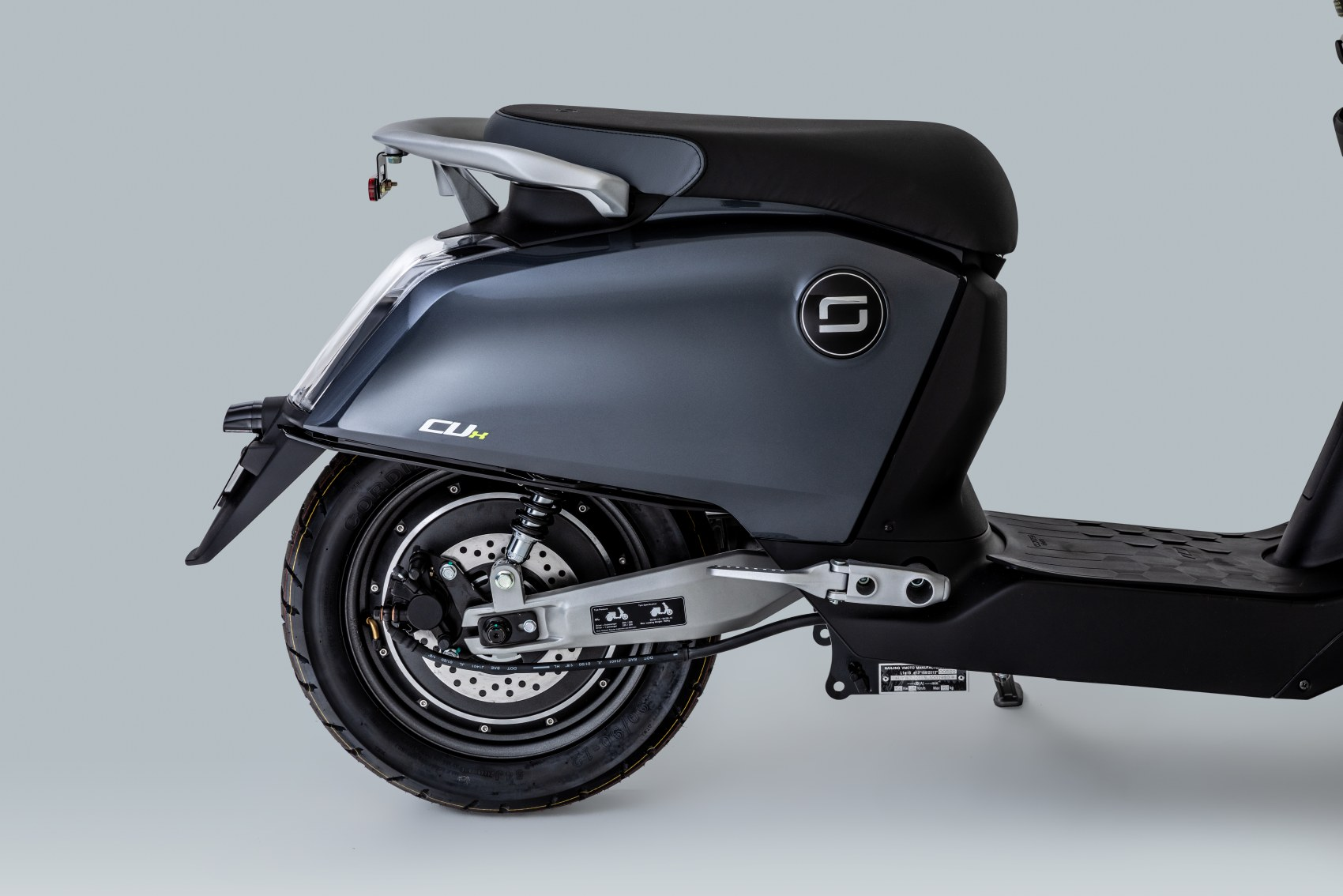 Super Soco CUx electric scooter rear panel