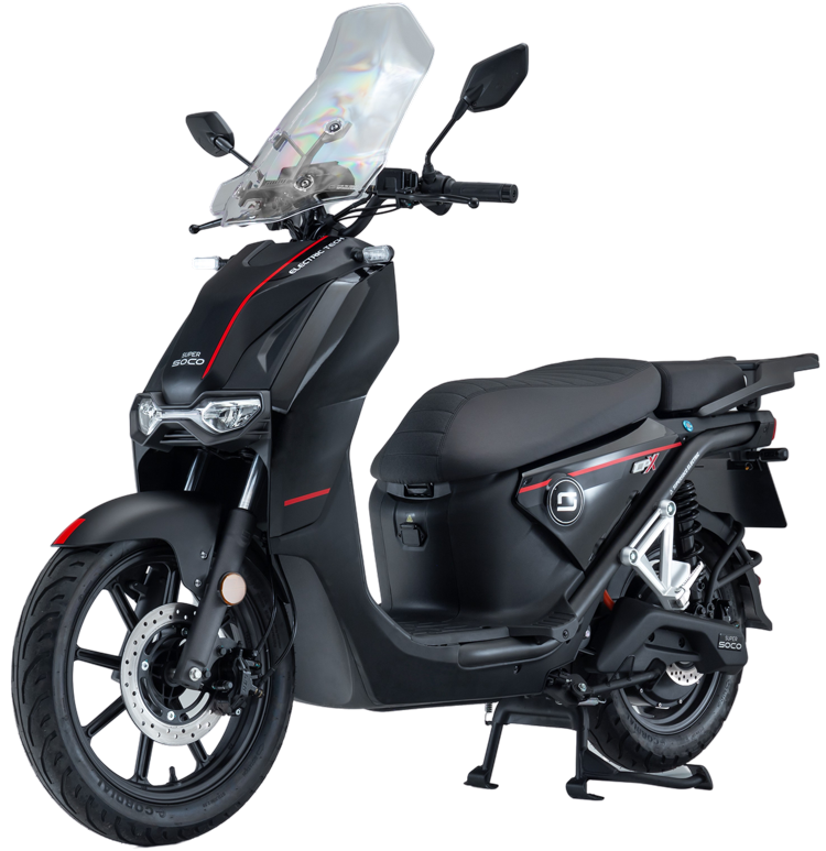 Super Soco CPx electric scooter cutout image