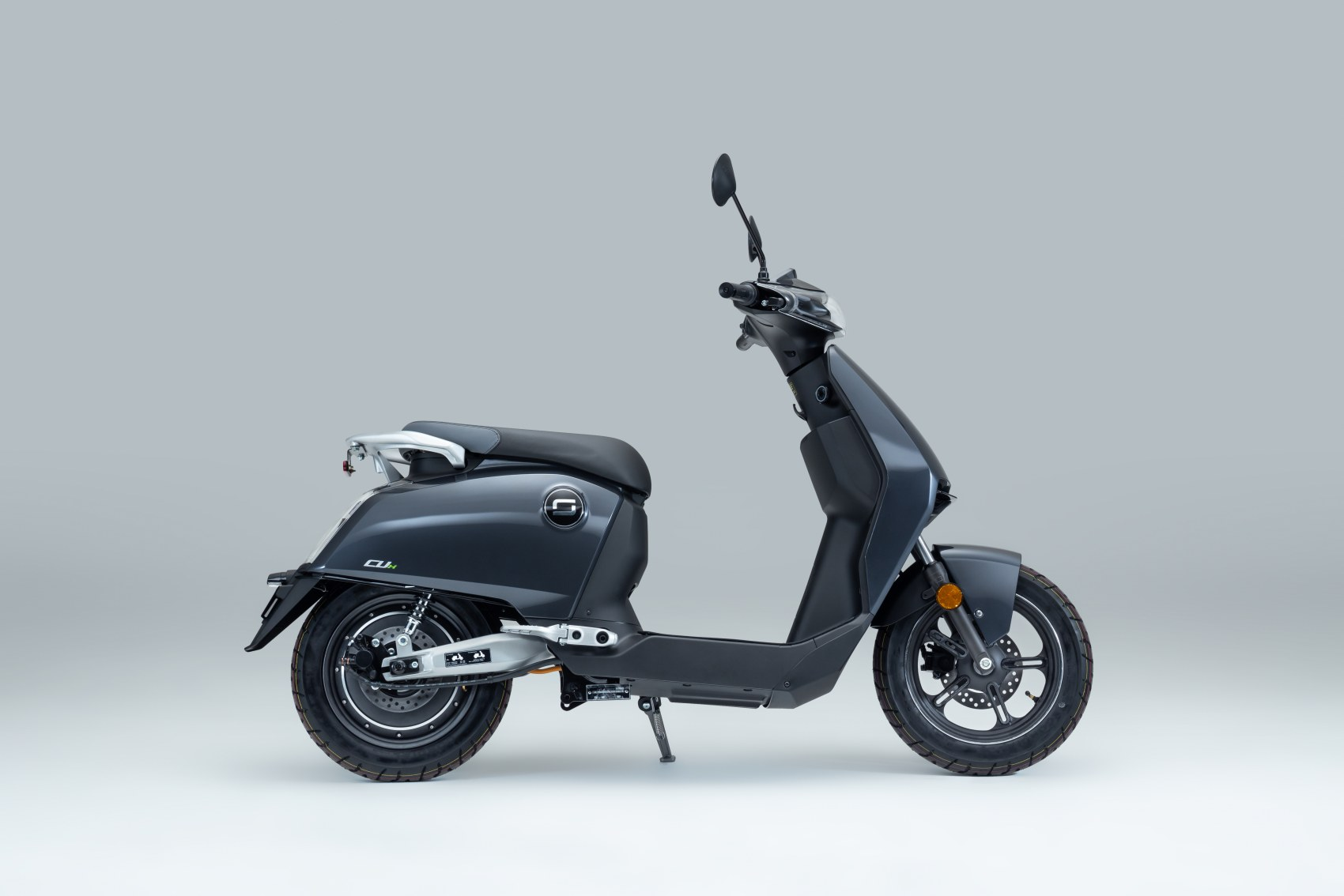 Super Soco CUx electric scooter side profile