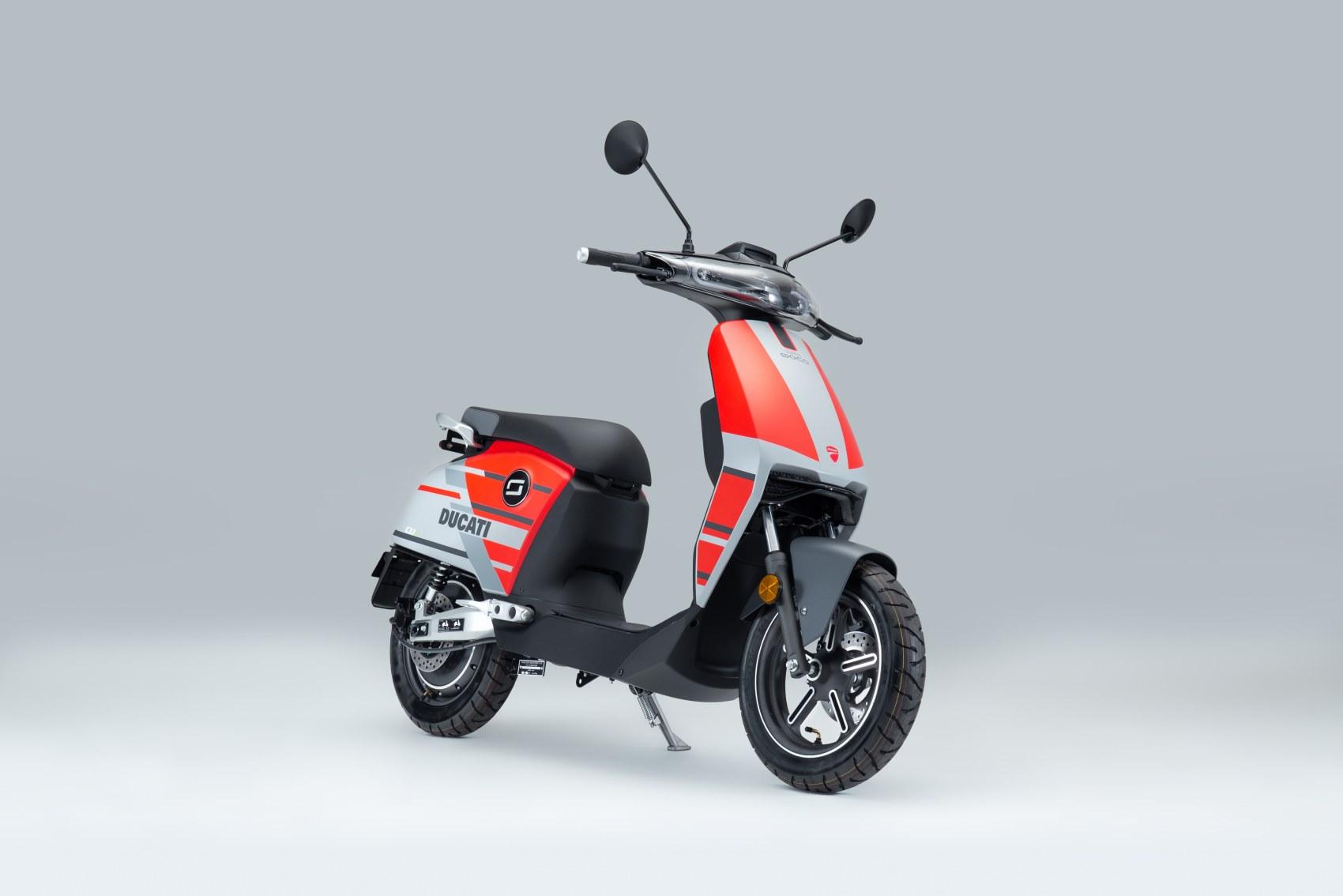 Super Soco CUx electric scooter Ducati Edition