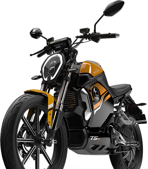 Super Soco TSX electric motorcycle