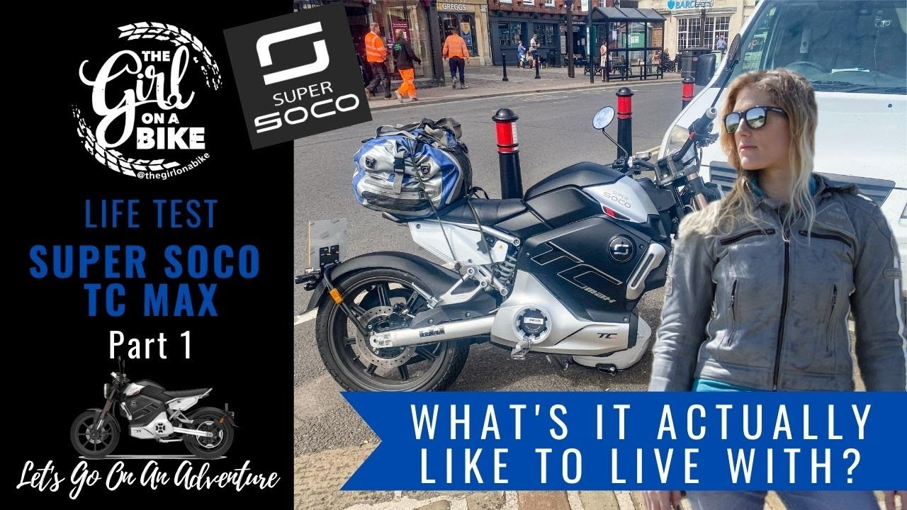 Super Soco TC Max – The Girl On A Bike – Living with review