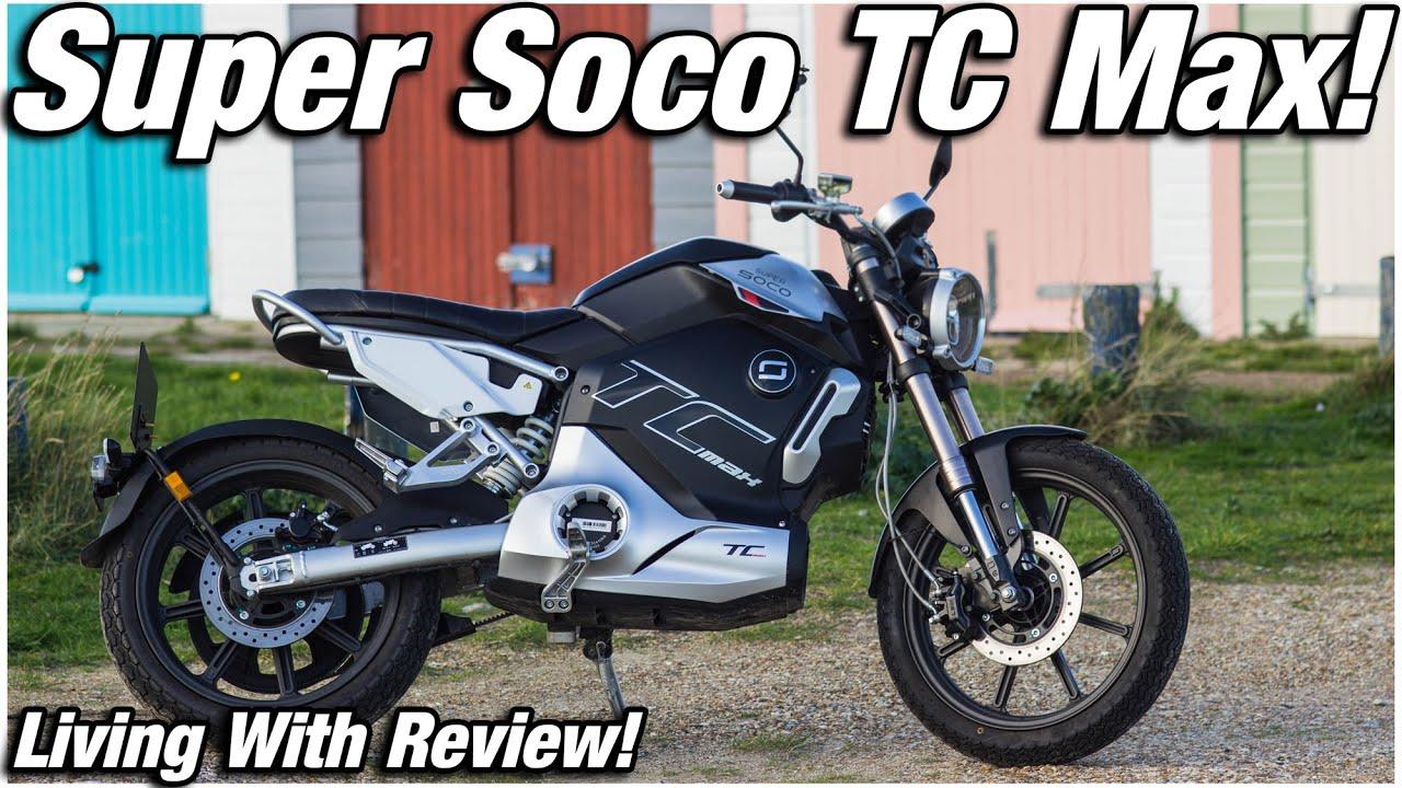 Super Soco TC Max – Spicy110 – Review