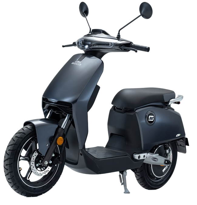 Super Soco CUx electric motorcycle cutout image