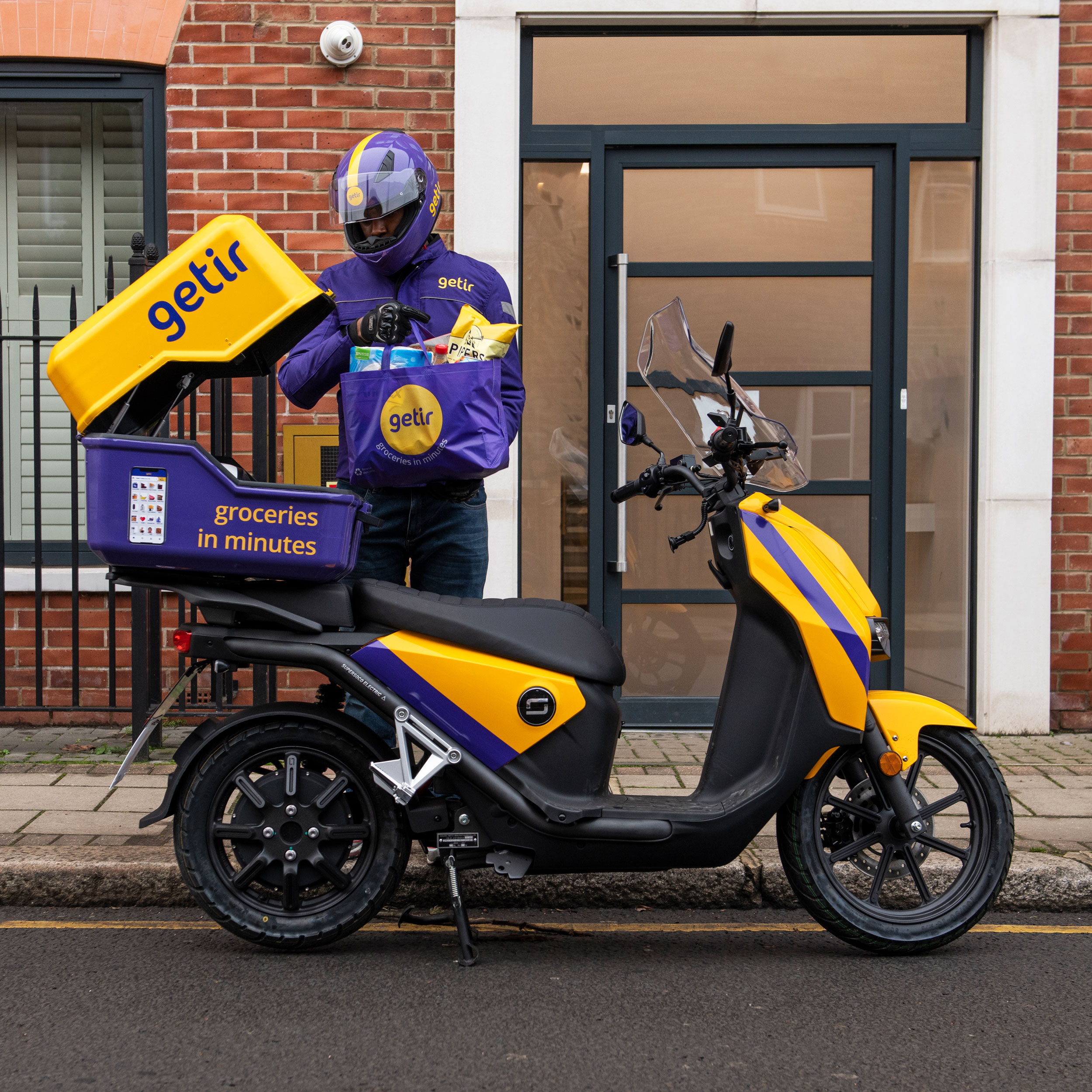 Getir delivery Super Soco CPx