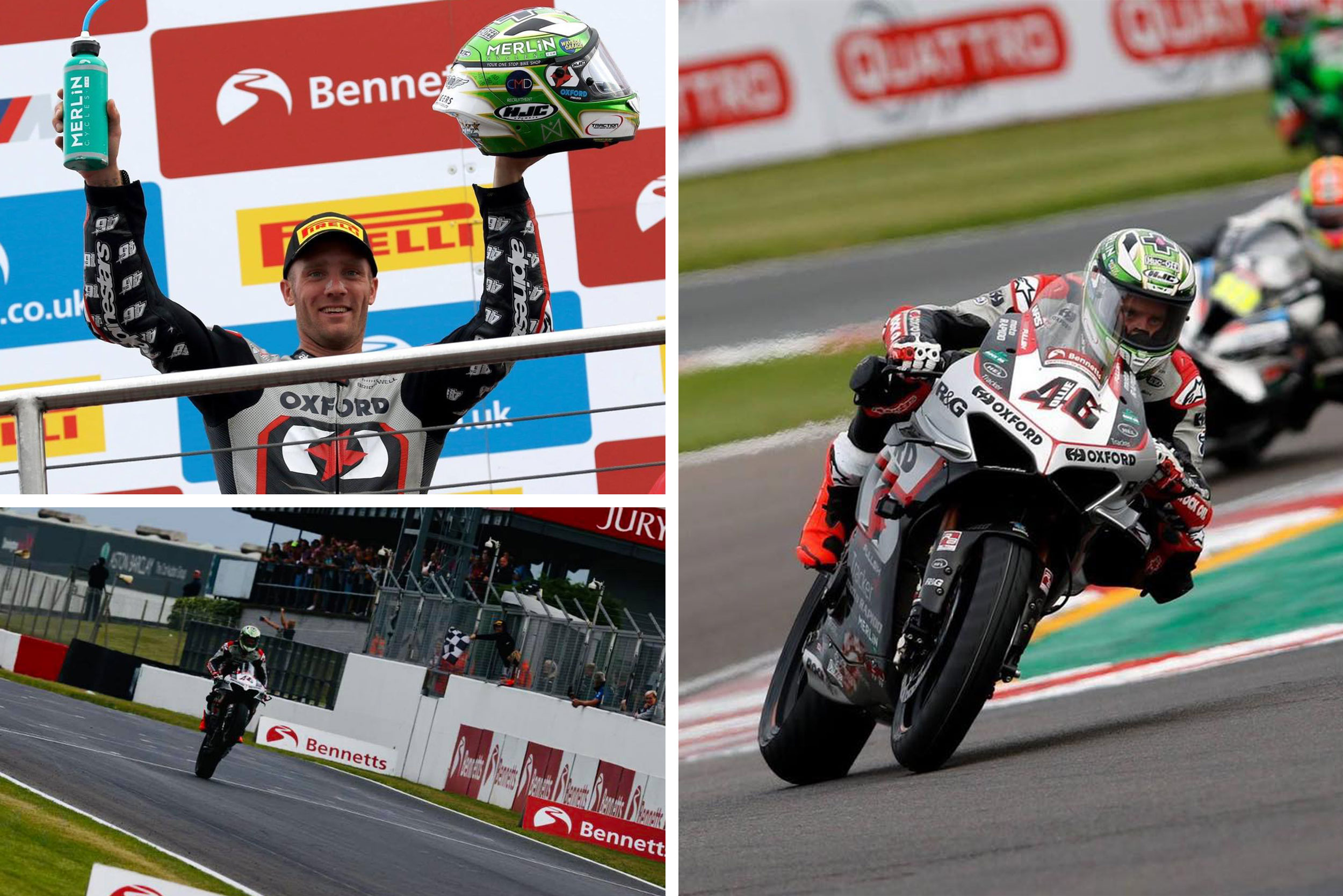 Super Soco sponsored rider, Tommy Bridewell takes commanding victory at Donnington British Superbikes