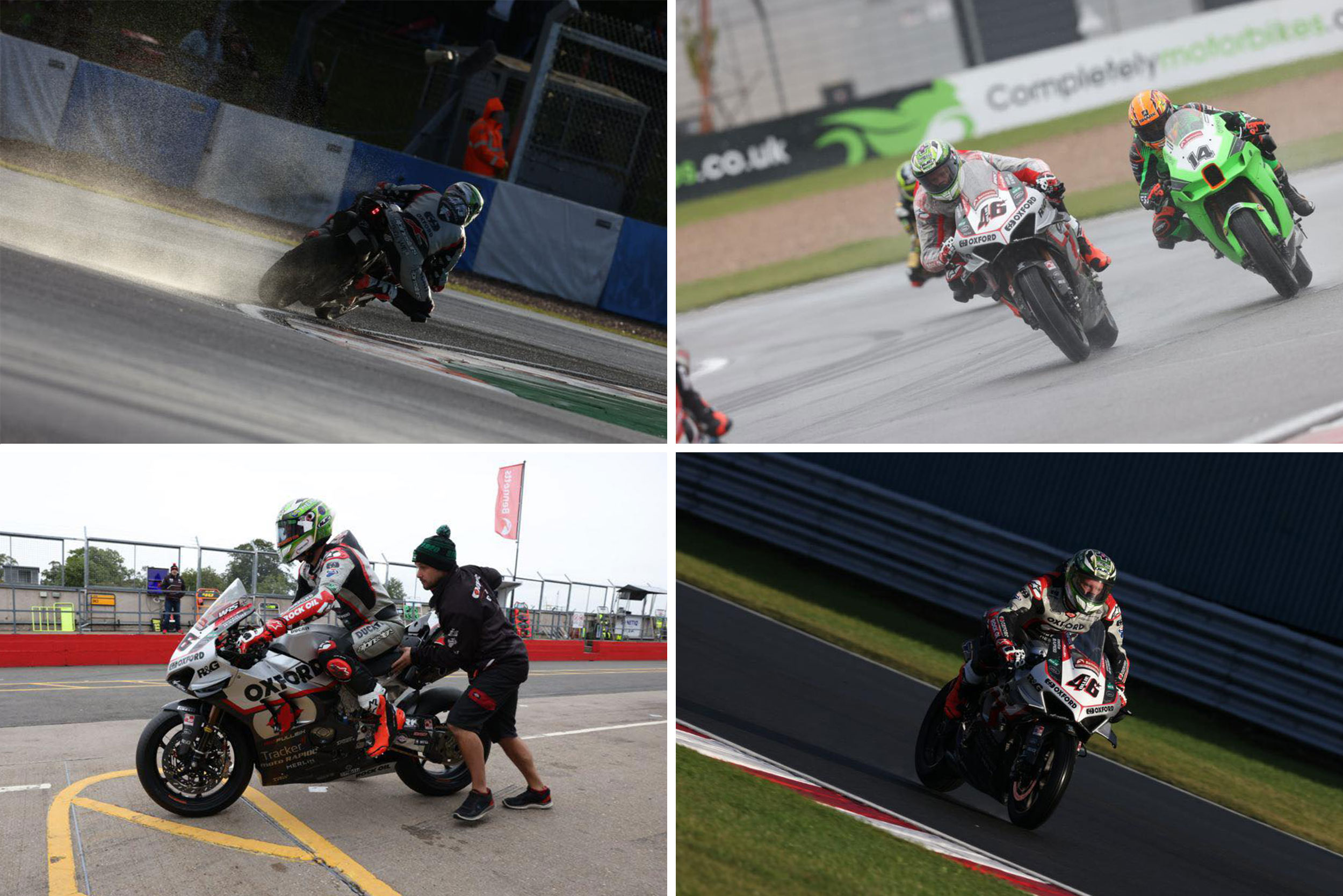 Tommy Bridewell at Donnington British Superbike race Octover 2021